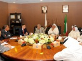 ICRC president Peter Maurer meets the president and board of the Kuwait Red Crescent Society