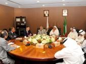 رئيس اللجنة الدولية للصليب الأحمر في اجتماع مع رئيس ومجلس إدارة جمعية الهلال الاحمر الكويتي