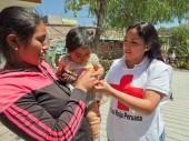 Los voluntarios y voluntarias de la CRP siempre están dispuestos a apoyar en su comunidad.