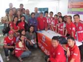 La Croix-Rouge philippine : des milliers d'employés et de volontaires prêts à intervenir