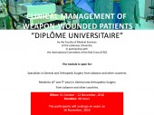 Overview: Clinical management of weapon-wounded patients