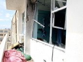 Shelling endangered both the lives of the patients and the medical staff. Parts of the hospital were seriously damaged.
