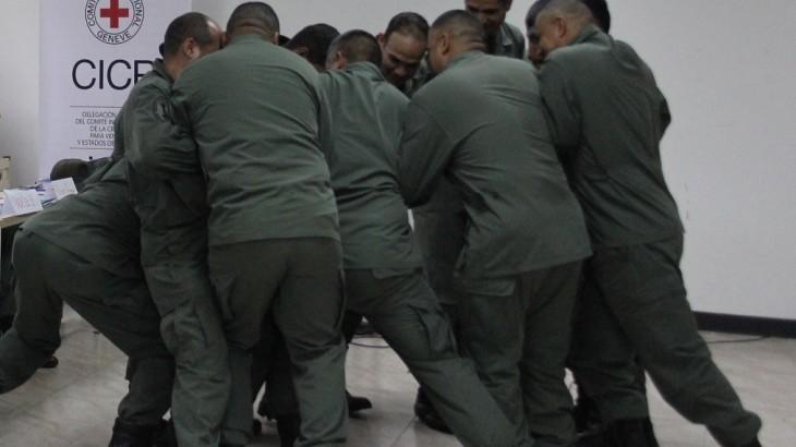 Venezuela: CICR inicia curso de Uso Progresivo de la Fuerza Durante las Operaciones de Mantenimiento de Orden Público