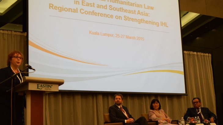 《武器贸易条约》:马来西亚区域大会讨论国际人道法新增条约