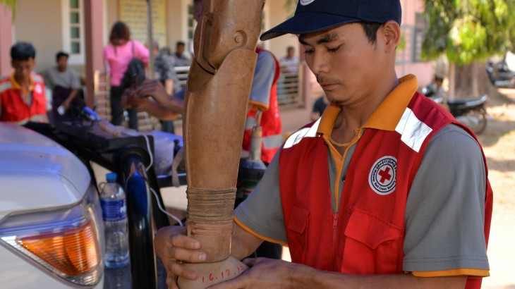 缅甸:在当地社区恢复残疾人的行动能力