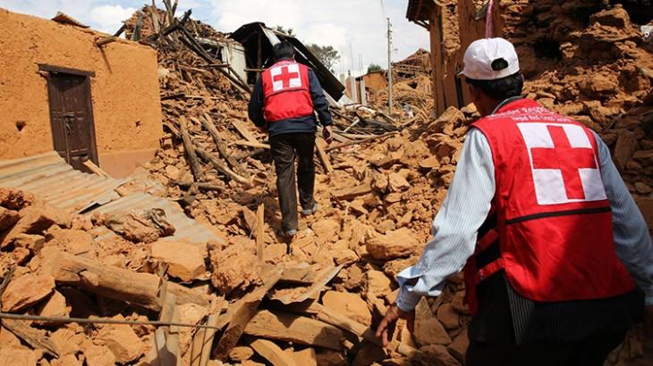 Séisme au Népal : La Croix-Rouge en première ligne des interventions d'urgence