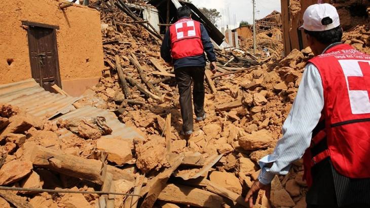 زلزال نيبال: استجابة الصليب الأحمر لحالة الطوارئ