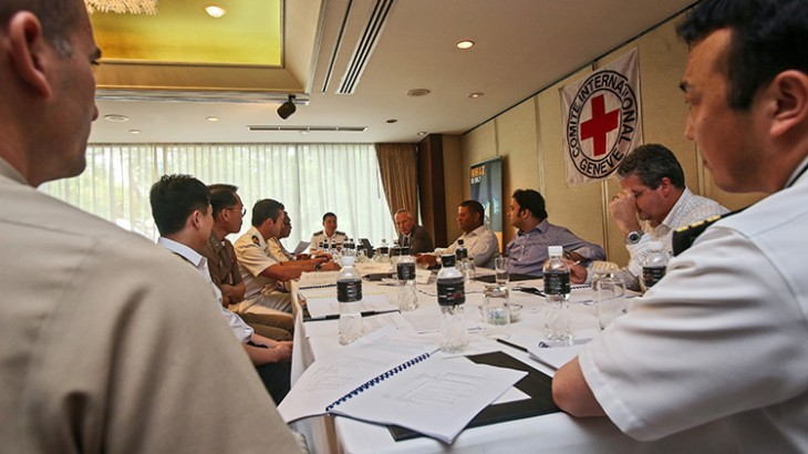 Asia-Pacific: Naval officers analyse the law of armed conflict at sea