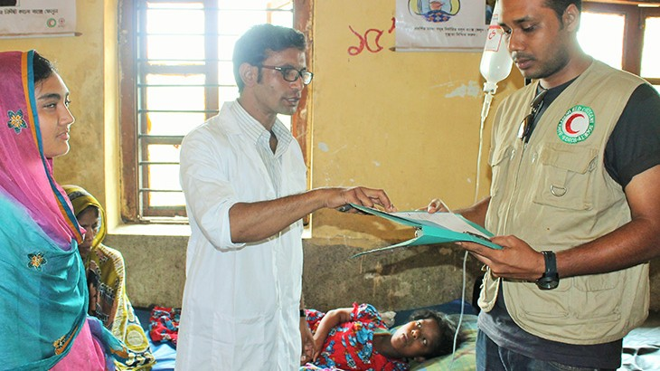 Bangladesh: Red Crescent medical teams provide quality health care