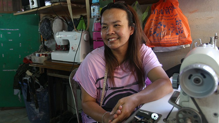 Thailand: Financial assistance restores livelihoods for families affected by unrest