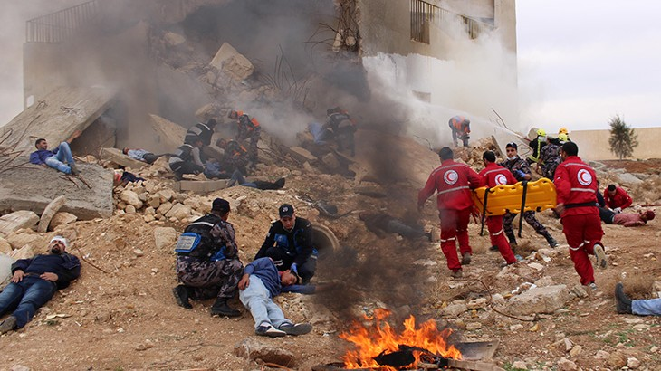 Jordan: Boosting first aid skills in emergencies