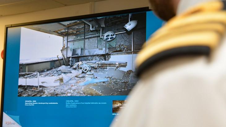 红十字国际委员会与北大西洋公约组织在伦敦推广战争法