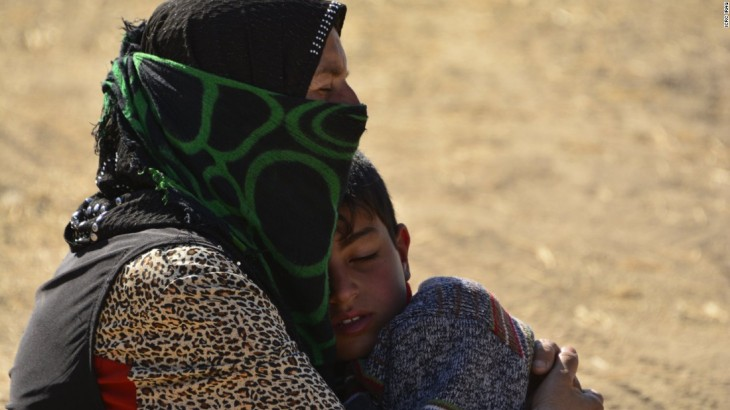 Dying in the desert: The villagers trapped in no-man's land - CNN