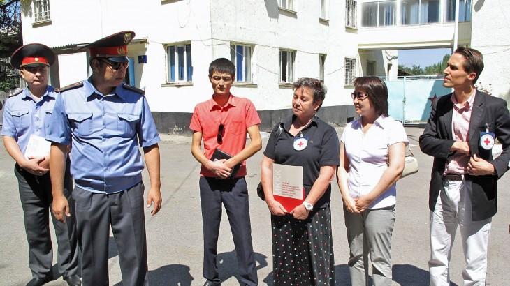Кыргызстан: отремонтирован изолятор временного содержания