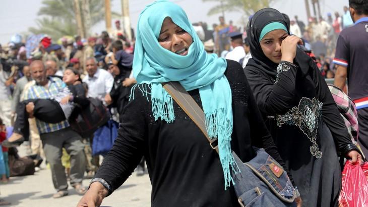 不能坐视伊拉克人民独自受苦