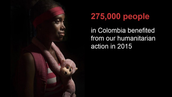 Our humanitarian action in Colombia