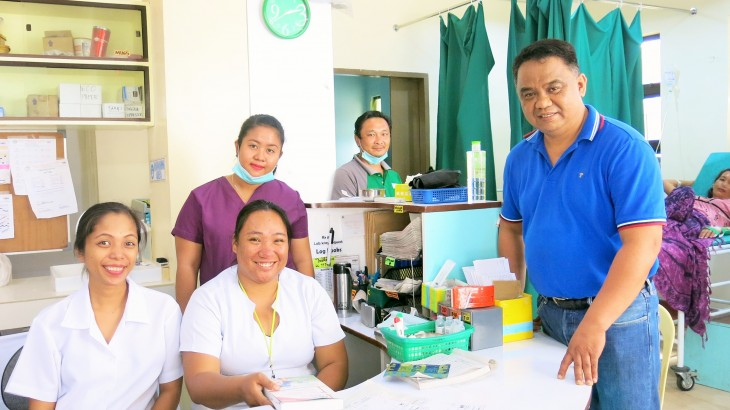Philippines: Saving lives and limbs