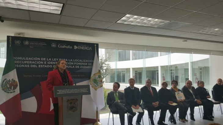 México: el CICR celebra la promulgación de la nueva ley en materia forense en Coahuila