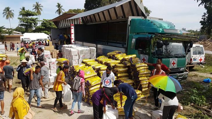 因冲突而流离失所的数千马京达瑙省民众获得援助物资
