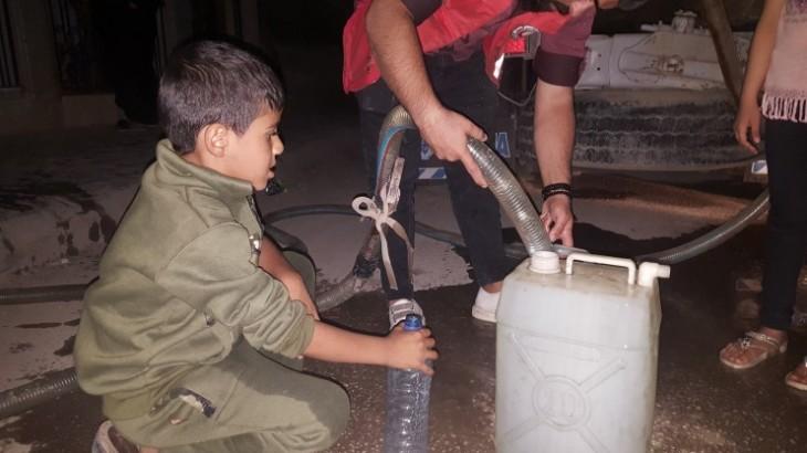 Síria: numa atualização das operações, vemos impacto devastador em civis e temor de escassez de água