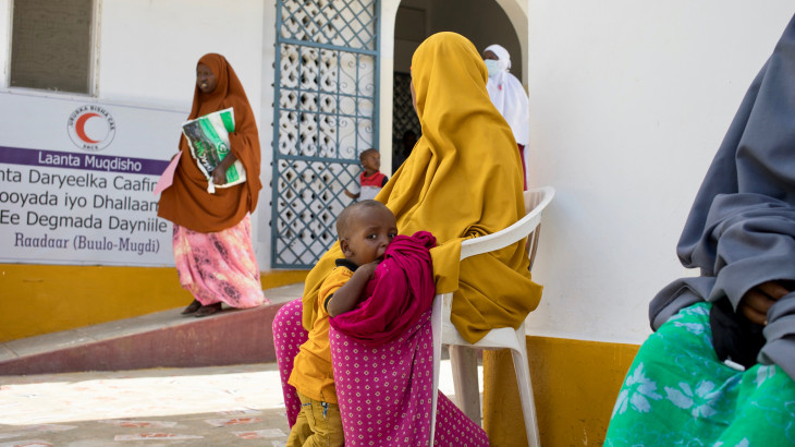 Somalia: Decline in primary health care visits and childhood vaccinations during COVID-19