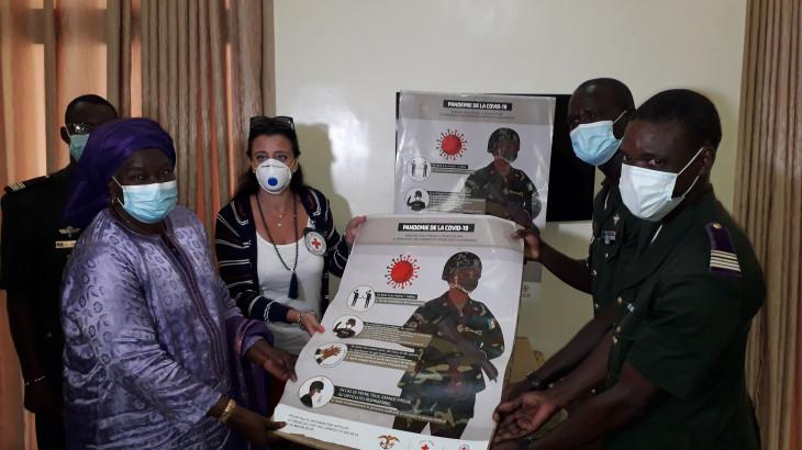Faits et chiffres : riposte Covid-19 de la Délégation régionale du CICR à Dakar