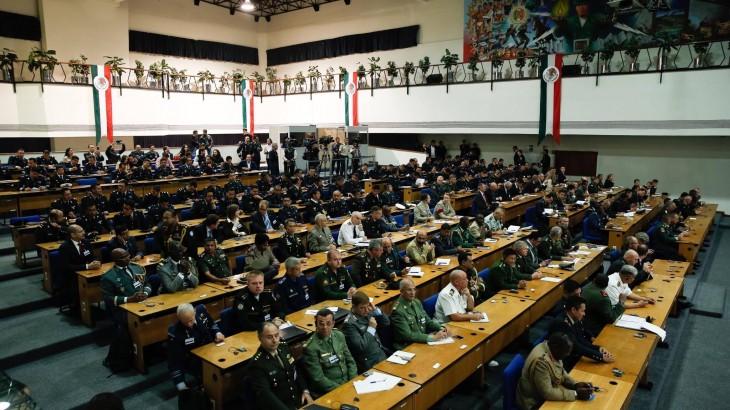 México: La Secretaría de la Defensa Nacional y el Comité Internacional de la Cruz Roja organizan taller sobre normas internacionales en operaciones militares
