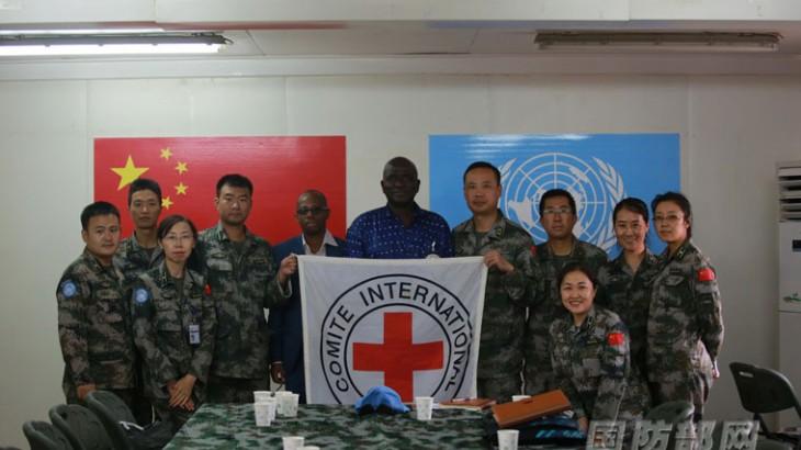 中国赴马里维和医疗队首次举办红十字国际委员会培训班