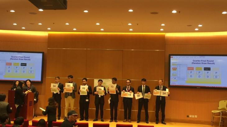 第十四届亚太地区红十字国际人道法模拟法庭竞赛在香港开幕