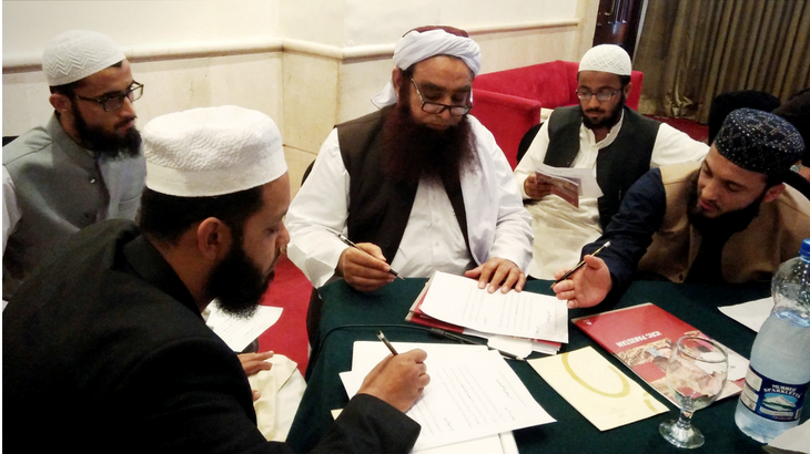Engaging with religious circles on Islamic Law and IHL