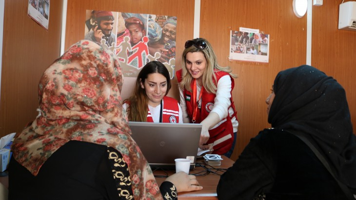 Jordan: ICRC response to needs from April to July 2017