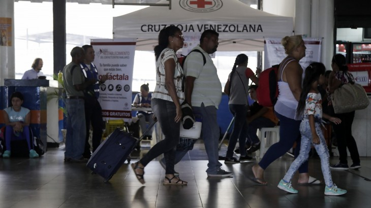 Reconnecting travellers with their families during times of uncertainty in Venezuela