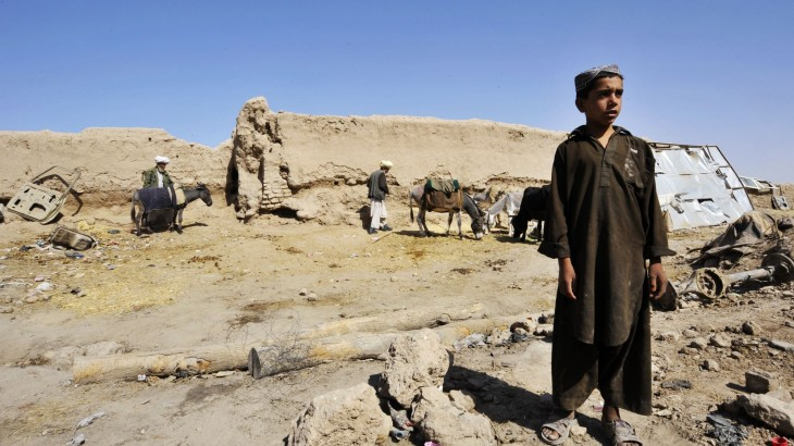 Afghanistan: Facts and figures for 2014