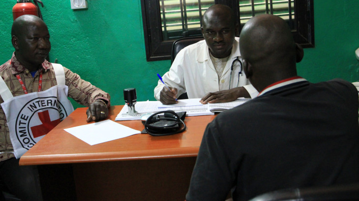 Africa CDC and ICRC discuss COVID-19 prevention in places of detention