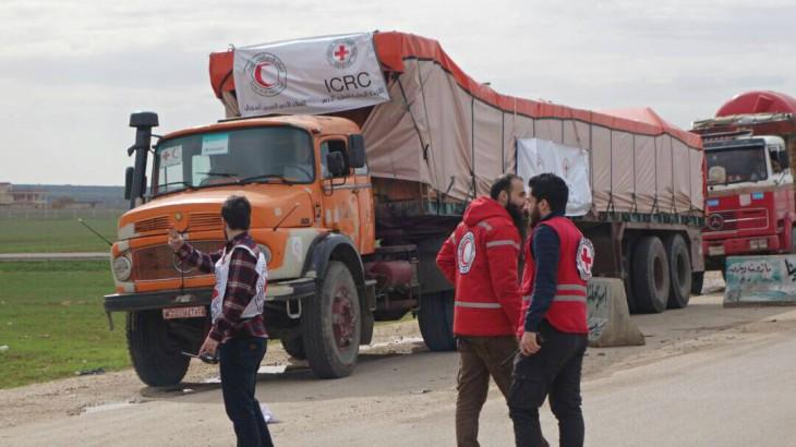 Сирия: гуманитарная колонна из 29 грузовиков доставила помощь жителям Африна