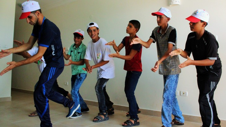Flowers of Tomorrow: The stone of hope for Gaza youth