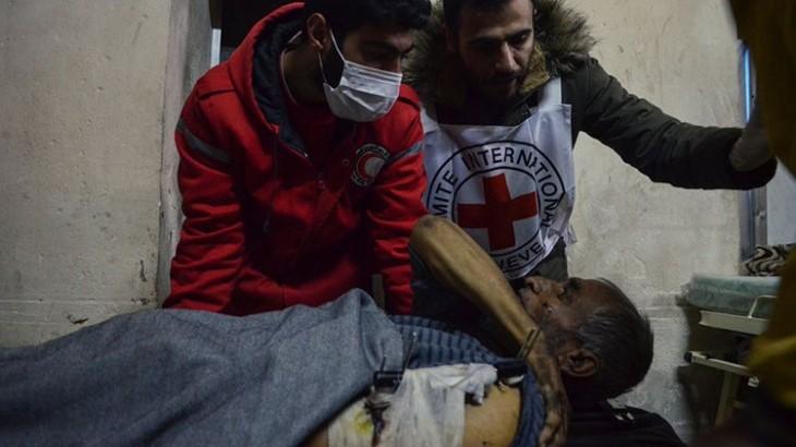 专访红十字会代表:数百万叙利亚人遭遇极度苦难