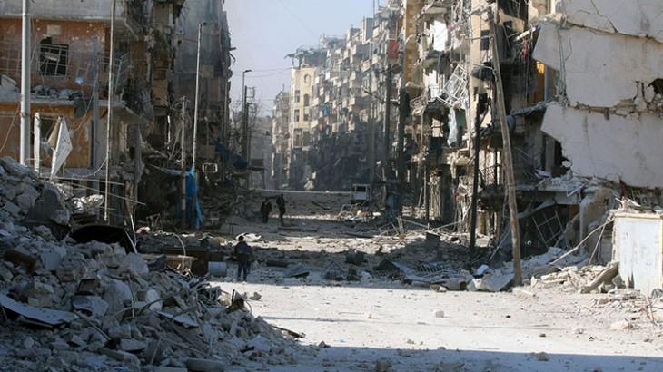阿勒颇:三天内约两万民众逃离家园