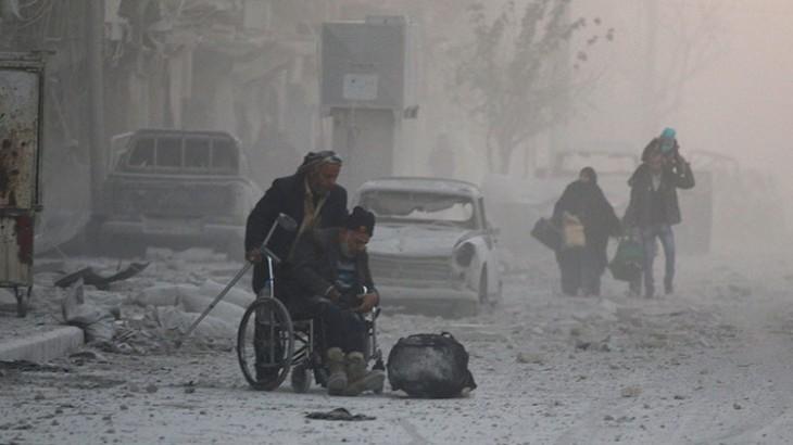 红十字国际委员会恳请各方停止伤害阿勒颇东部平民