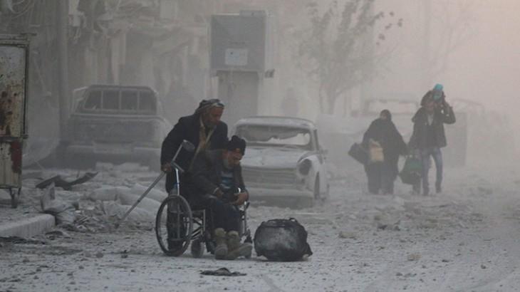اللجنة الدولية تناشد جميع الأطراف عدم إزهاق الأرواح في شرقي حلب