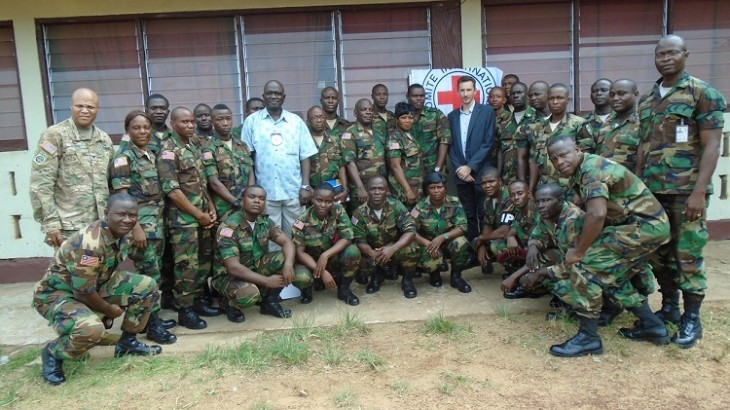 Liberia: Armed forces train in international humanitarian law