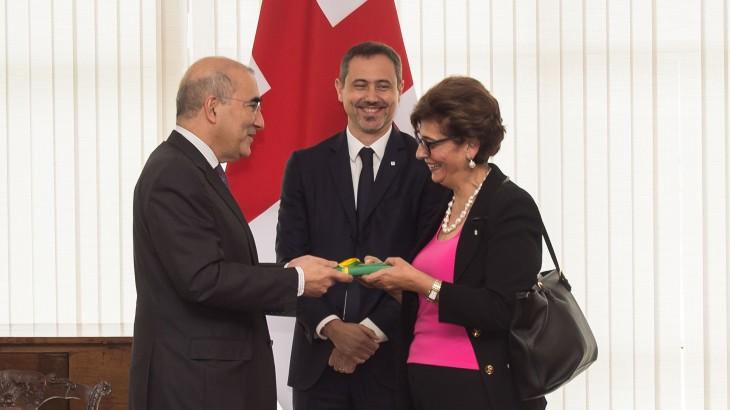 CICV reforça cooperação com o Brasil