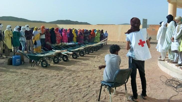 Mali : des travaux d'assainissement dans la ville de Tessalit