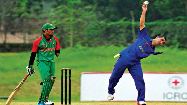 Bangladesh: ICRC international cricket tournament for people with physical disabilities