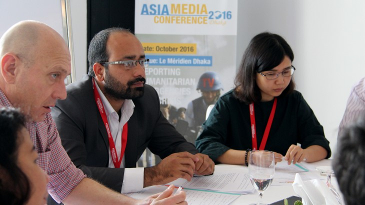 Bangladesh: National and regional media professionals discuss humanitarian reporting