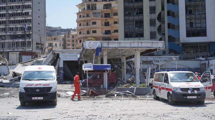 Conferencia internacional de apoyo a Beirut y a la población de Líbano: Discurso de Peter Maurer