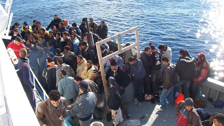 """地中海红十字与红新月移民问题论坛呼吁停止称流动人口为""""非法"""""""