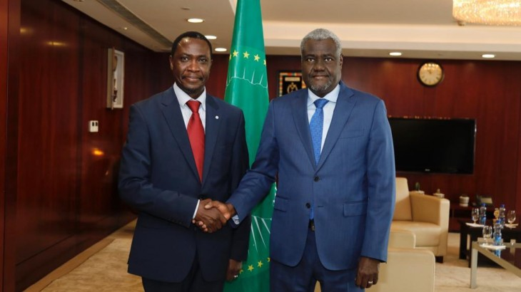 African Union Chairperson assures ICRC of strengthened partnership
