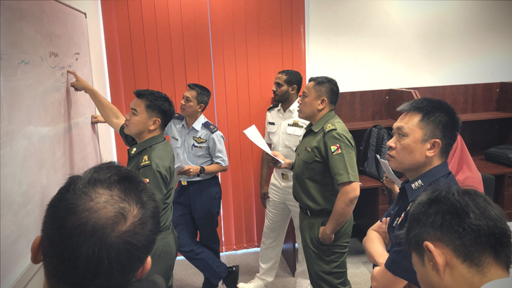 Brunei: Senior military officers enhance practical knowledge of IHL