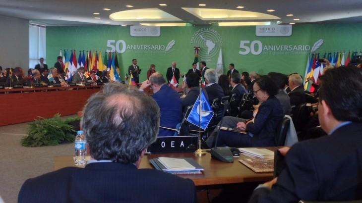 México: el presidente del CICR llama a los países de América Latina y el Caribe a seguir trabajando para que sean prohibidas las armas nucleares